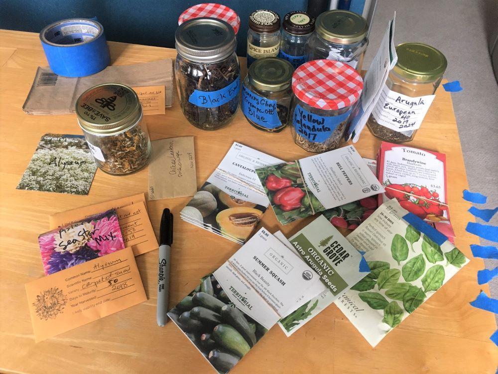 Filling seed orders